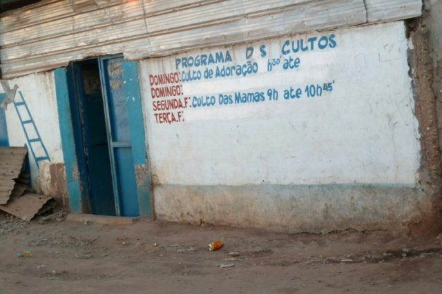 In Angola empty and underused properties are rented out to fulfil the booming demand from evangelical churches