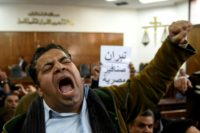 Egyptians activists celebrated the original High Court ruling in December 2016