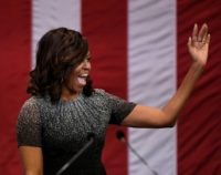 Once a reluctant 'mom-in-chief,' Michelle Obama, the tall, toned Princeton and Harvard graduate -- America's first black first lady -- has evolved, becoming a singular voice for women and a political dynamo