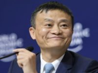 Alibaba Group Founder and Executive Chairman China's Jack Ma attends the announcement of a long-term partnership of Alibaba with the Olympic Games January 19, 2017 in Davos