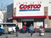 WATCH: Shoplifters Allegedly Attempting to Steal from Seattle Costco Run into Police as They Leave Store