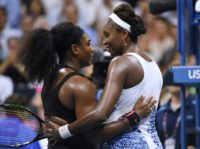 Serena Williams (L) has the clear edge over her sister Venus Williams (R), winning six of their eight Grand Slam final encounters