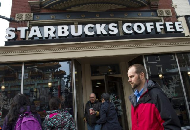 Starbucks plans to hire 10,000 refugees worldwide over the next five years in response to President Donald Trump's travel ban, the head of the US coffee-chain company said