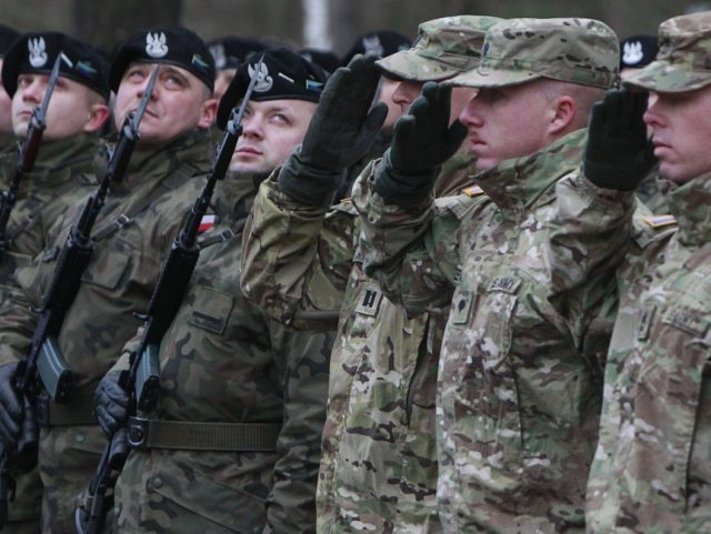 Polish Leaders Welcome US Troops As Part Of NATO Buildup