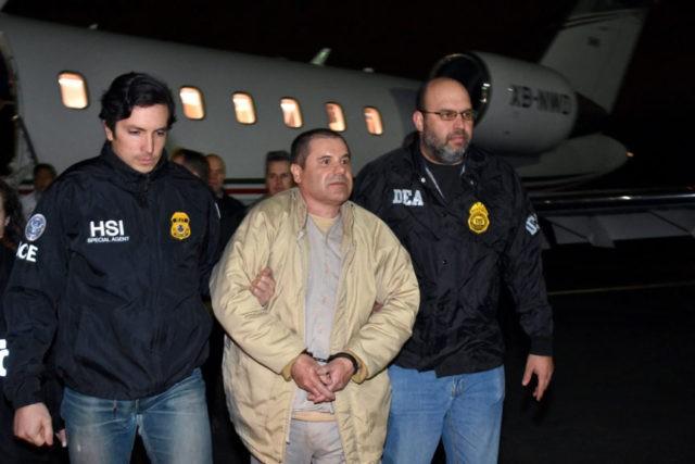 Drug Lord 'El Chapo' Guzman extradited to the United States