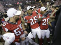 The Latest: Falcons roll 44-21 to reach Super Bowl