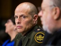 """UNITED STATES - FEB. 23 - Ronald Vitiello, Deputy Chief of the U.S. Border Patrol at the U.S. Customs and Border Protection, looks on during a Senate Judiciary Committee hearing on """"The Unaccompanied Children Crisis: Does the Administration Have a Plan to Stop the Border Surge and Adequately Monitor the …"""
