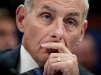 Homeland Security Secretary John Kelly listens while testifying on Capitol Hill in Washington, Tuesday, Feb. 7, 2017, before the House Homeland Security Committee. This is Kelly's first public appearance before lawmakers who are sure to press him for details about the Trump administration's contentious rollout of a travel and refugee …