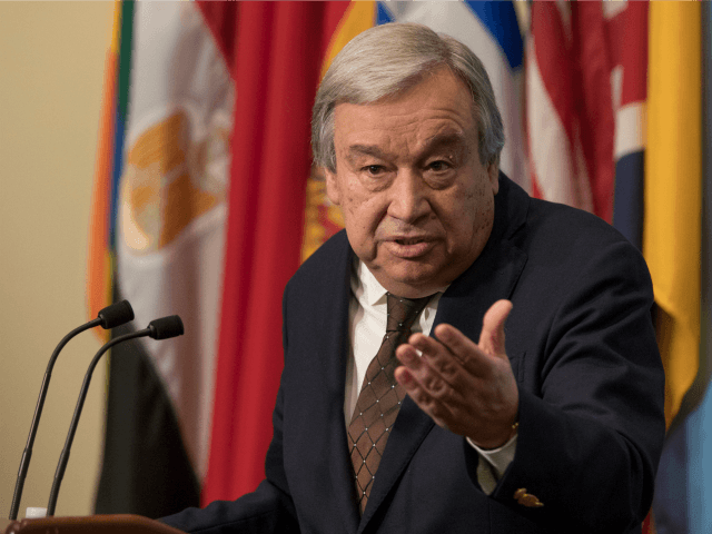 Guterres warns United Nations may run out of money by end of month