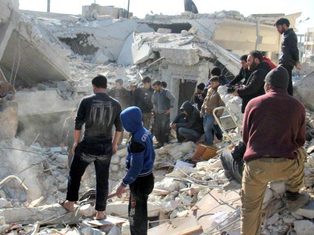 Attack Idlib AFP
