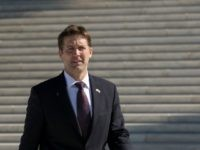 Sen. Ben Sasse (R-NE) leaves the Supreme Court, March 2, 2016 in Washington, DC. On Wednesday morning, the Supreme Court will hear oral arguments in the Whole Woman's Health v. Hellerstedt case, where the justices will consider a Texas law requiring that clinic doctors have admitting privileges at local hospitals and that clinics upgrade their facilities to standards similar to hospitals. (Drew Angerer/Getty Images)