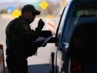 Border Patrol checkpoint (John Moore / Getty)