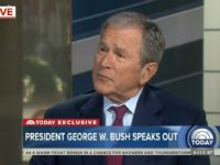 Bush: It's Hard to Unify the Country With the News Media Being So Split Up