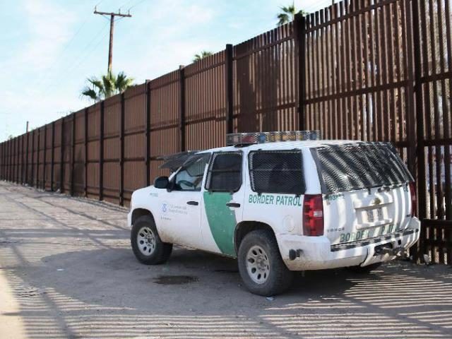 CBP at Calexico - Getty Images