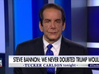 Krauthammer on Bannon at CPAC: He Showed He Was 'the Brains of the Operation'