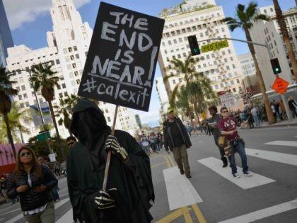 Calexit Grim Reaper (Chelsea Guglielmino / Getty Images)