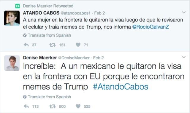 Denise Maerker tweet