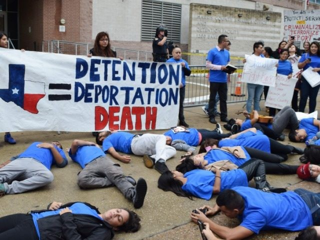 Deportation Protest in Harris County