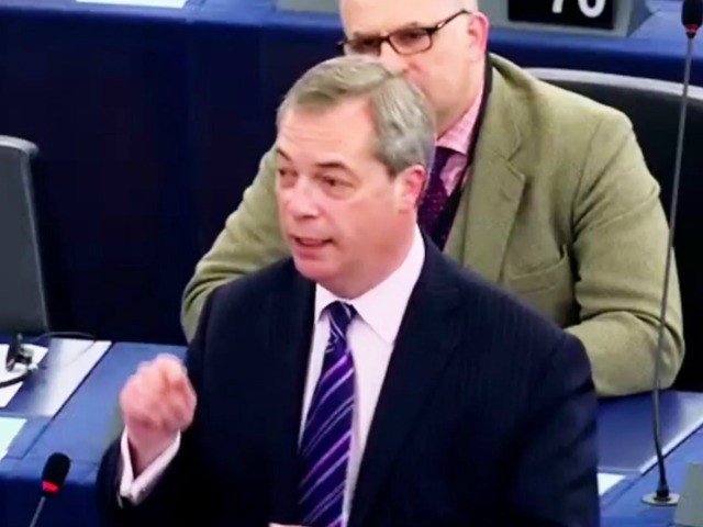 Watch: Farage Slams EuroParl for Ignoring the People on Migration - 'They Want Tougher Rules Than I do!'
