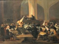 -Francisco de Goya's Escena de Inquisicion