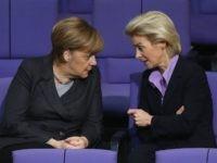 Angela Merkel and Ursula von der Leyen