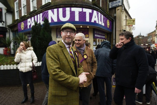 The UKIP Leader Launches His Campaign To Represent Stoke Central In Parliament