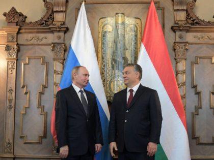 iktor Orban and Vladimir Putin