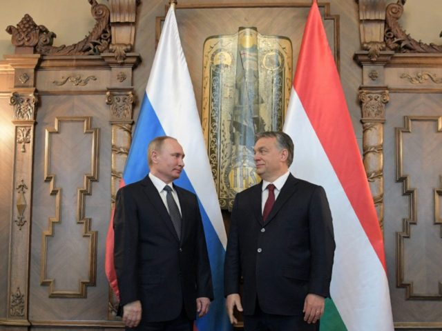 iktor Orban and Vladimir Putin