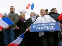 Protesters Block Le Pen Supporters Trying to Reach Rally