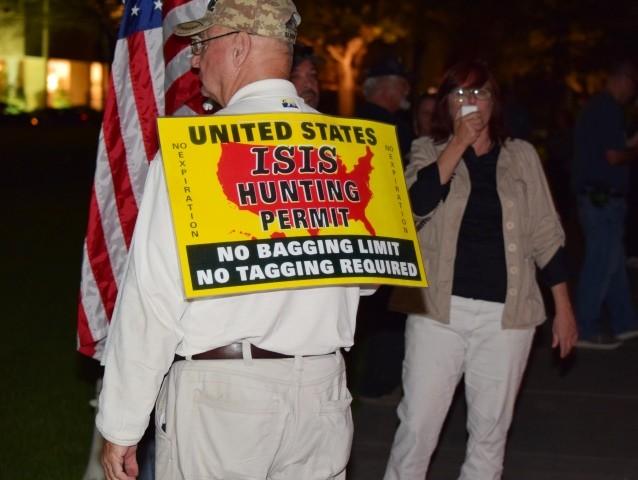 Houston Refugee Protest 2-22-17 Houston BP