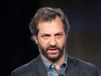 PASADENA, CA - JANUARY 09: Actress Executive Producer Judd Apatow speaks onstage during the 'Girls' panel discussion at the HBO portion of the 2014 Winter Television Critics Association tour at the Langham Hotel on January 9, 2014 in Pasadena, California. (Photo by Frederick M. Brown/Getty Images)