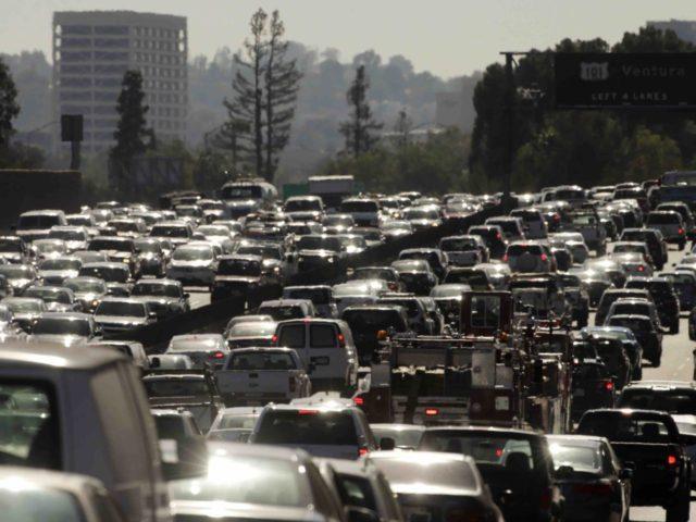 Los Angeles Traffic (Jae C. Hong / Associated Press)