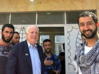 Senator John McCain Makes Secret Trip to Syria