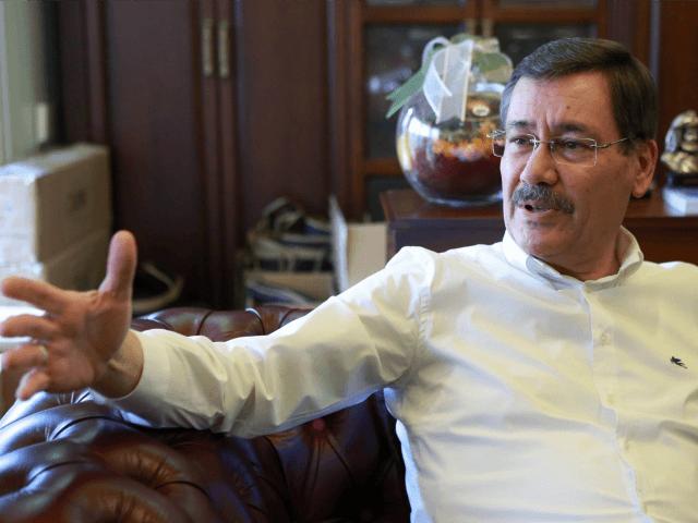 Mayor of Ankara Melih Gokcek speaks during an interview with an AFP journalist on July 30, 2016 in Ankara. / AFP / ADEM ALTAN (Photo credit should read ADEM ALTAN/AFP/Getty Images)