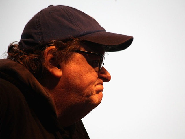 NEW YORK, NY - MARCH 23: Michael Moore attends The MoveOn.org Movie Screening And Panel On Reducing Gun Violence at SVA Theater on March 23, 2013 in New York City. (Photo by Donald Bowers/Getty Images for MoveOn.org Civic Action)