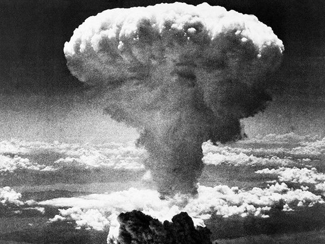 FILE - In this Aug. 9, 1945 file photo, a mushroom cloud rises moments after the atomic bomb was dropped on Nagasaki, southern Japan. On two days in August 1945, U.S. planes dropped two atomic bombs, one on Hiroshima, one on Nagasaki, the first and only time nuclear weapons have …