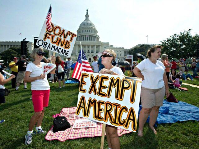 Obamacare Protest AP