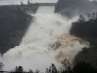 'Scientific American' Blames Climate Change for Oroville Dam Crisis