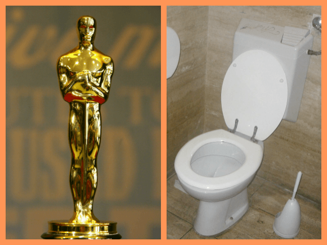 Oscar Toilet Collage