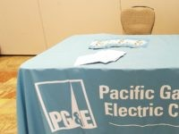 PG&E empty chair (Tony Avelar / Associated Press))