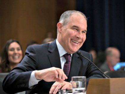 EPA chief Scott Pruitt