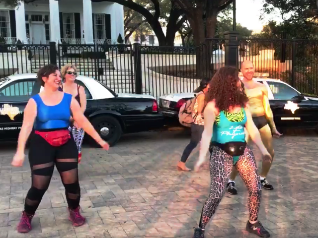 Governor's Mansion 'Queer Dance Freakout' Protests 'Bathroom Bill'