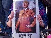 Resist Trump as Hitler (Melissa Johnson / Flickr / CC / Cropped)