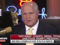 Rush Limbaugh: 'The Media Did Not Make Donald Trump and They Can't Destroy Him'