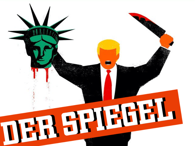 German magazine spiegel portrays trump as islamist for Spiegel magazi