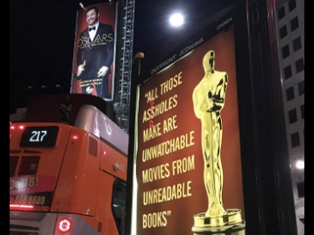 Street Artist Mocks 'Hollywood Royalty' with Fake Oscars Posters