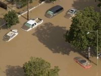 San Jose flooding (Noah Berger / AFP / Getty)
