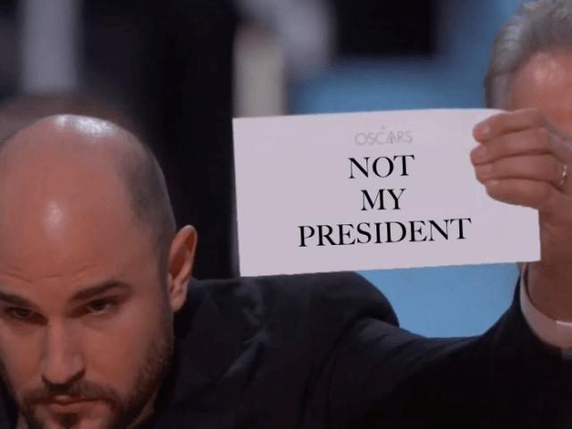 Not My President Oscars parody