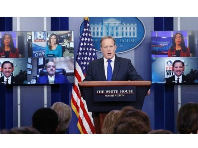 Spicer Skype Calls Fox News