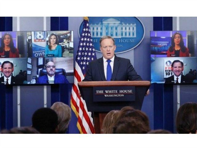 Spicer Skype Calls Fox News